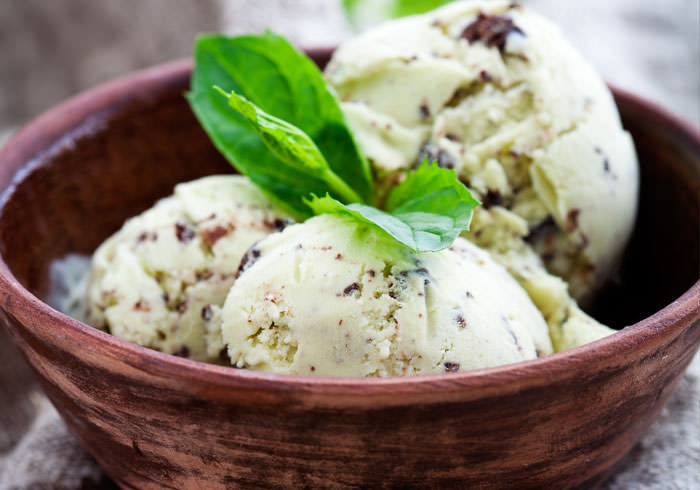 Clean Chocolate Chip Mint Ice Cream
