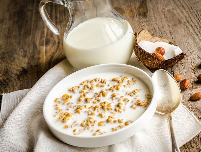Silky Coconut Almond Milk Recipe by @BlenderBabes