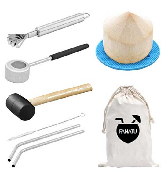 How to Open a Coco with the Coconut Opener Kit