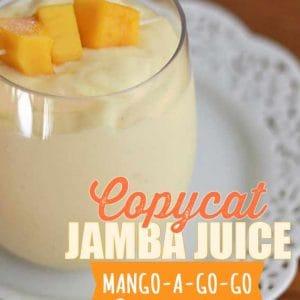 jamba juice mango a go go recipe