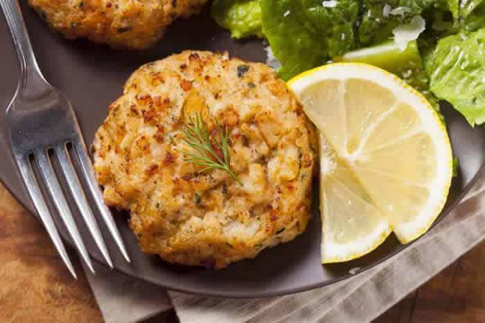 Vitamix Crab Cakes