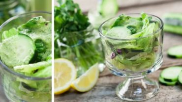 Cucumber Tahini Dressing in your Blendtec or Vitamix Blender