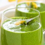 Detox Mint Smoothie Recipe by @BlenderBabes