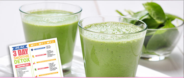 dr oz smoothie detox recipes