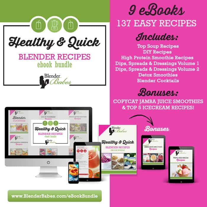 Blender Recipes eBook Bundle