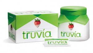 Truvia sugar substitute sweetener