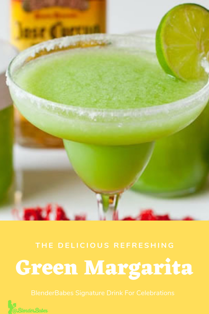 green Margarita blender babes