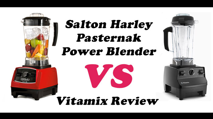 Harley Pasternak Blender Review Comparing to a Vitamix by @BlenderBabes