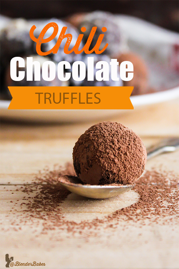 Blenderbabes Chocolate Homemade Trufles