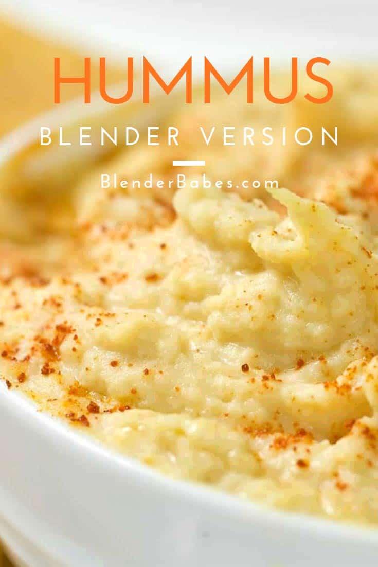 Blender Hummus Vegan