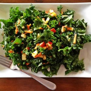 kale salad maple mustard dressing forks over knives