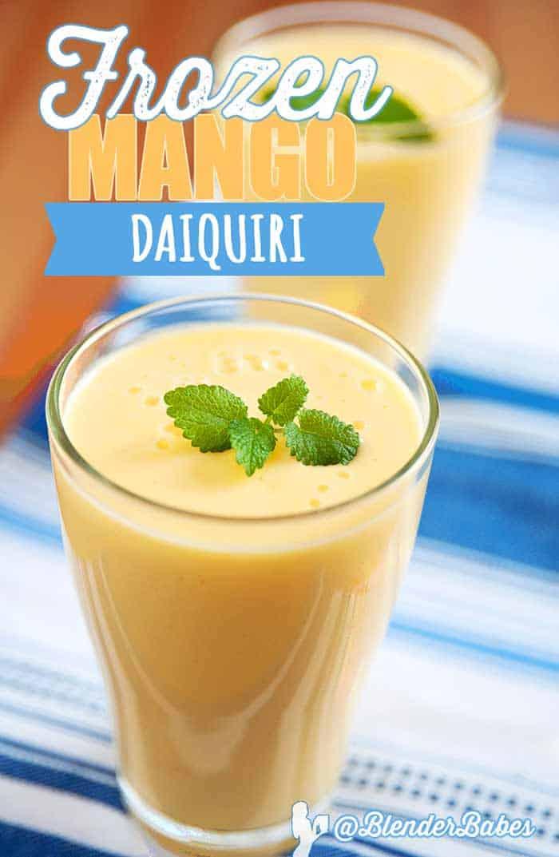 Vitamix Mango Daiquiri