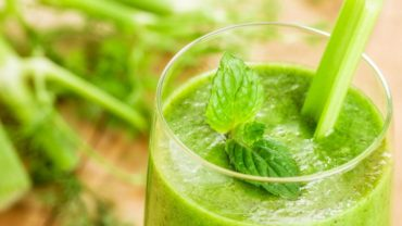 Migraine Be Gone Green Juice Recipe by @BlenderBabes