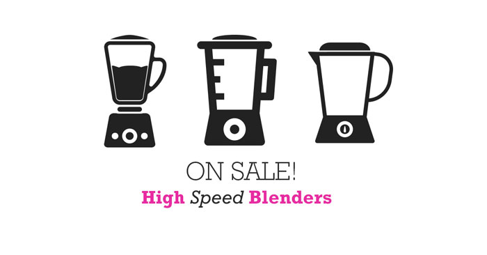 Current Blender Sales!