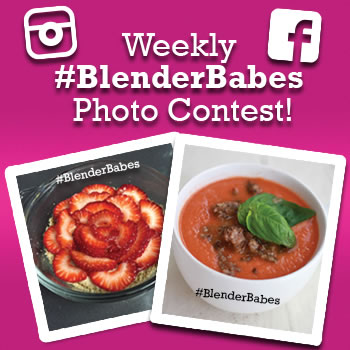 Blender Babes Weekly Photo Contest
