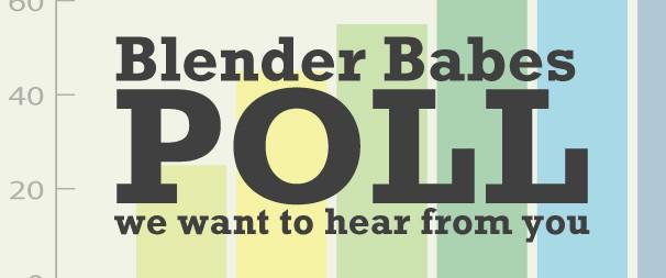 Blender Babes Poll