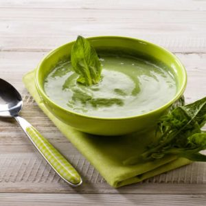 Raw Basil Soup