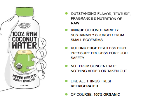 Harmless Harvest: The #1 Best Tasting Coconut Water by @BlenderBabes