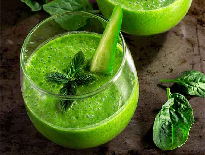 Smoothies without banana skinny green smoothie