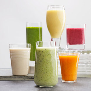 smoothies by blender