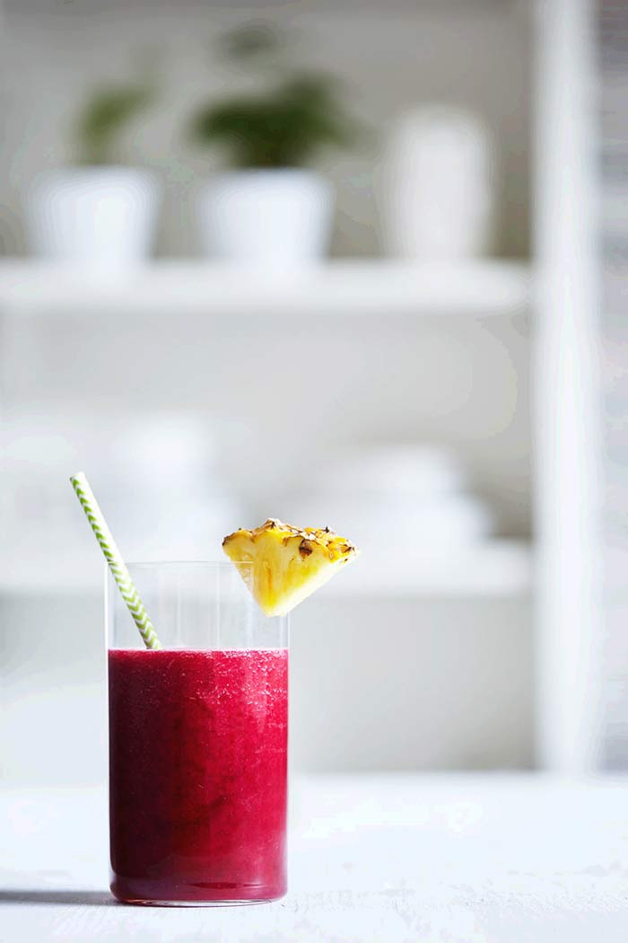 Smoothies for Kids - Beet and Pineapple Smoothie