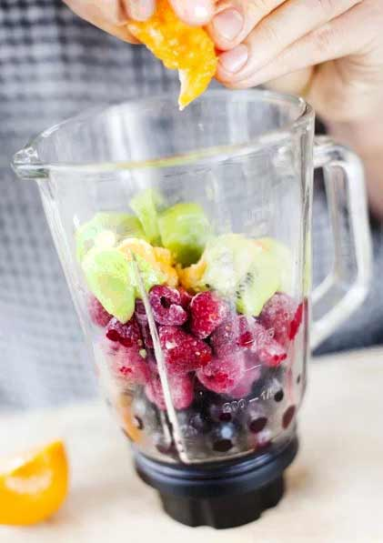 Superfruit Smoothie - Smoothies Without Bananas