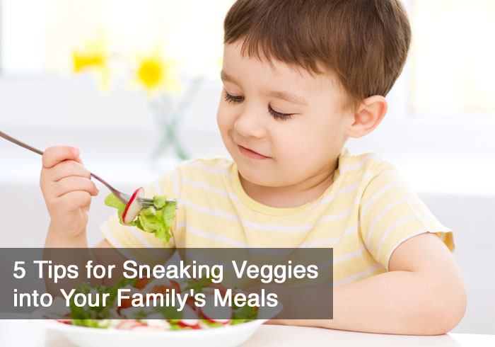5 Ways to Sneak Veggies in Your Kids' Food