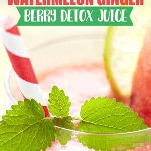 Anti-aging watermelon detox juice