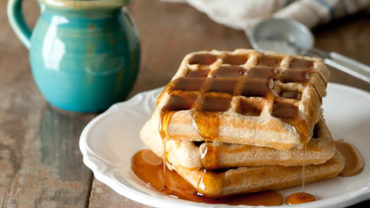 Whole Wheat Waffles recipe